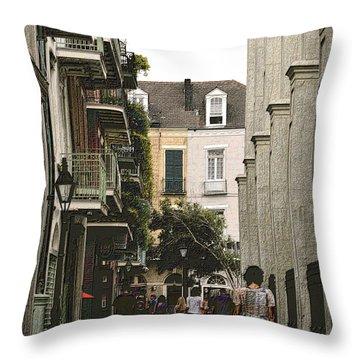 Pere Antoine Alley Throw Pillow