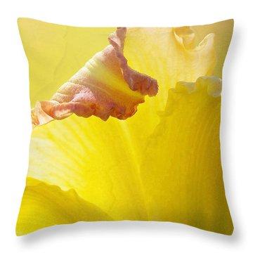 Ruffles Have Ridges Throw Pillow by Kathi Mirto