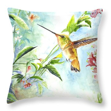 Rufus Paradise Throw Pillow by Arthur Fix