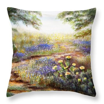 Rugged Beauty Throw Pillow by Patti Gordon