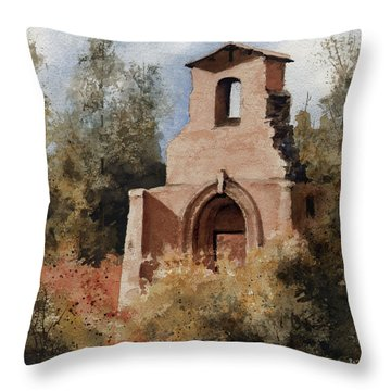 Ruins Of Morley Church Throw Pillow by Sam Sidders