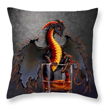 Rum Dragon Throw Pillow