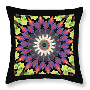 Throw Pillow featuring the photograph Rumba by I'ina Van Lawick