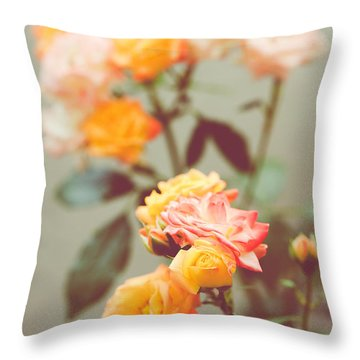 Throw Pillow featuring the photograph Rumba Rose by Ari Salmela