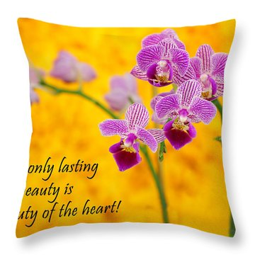 Rumi Quote-1 Throw Pillow