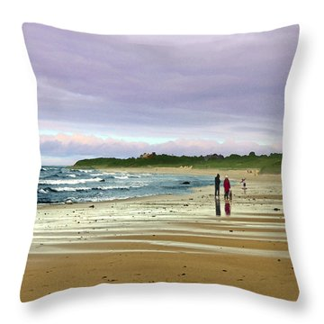 Run Off Throw Pillow