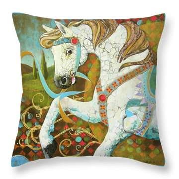 Runaway Rocker Throw Pillow