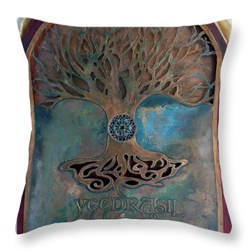 Runes For Restoration Throw Pillow
