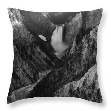 Running Deep Throw Pillow