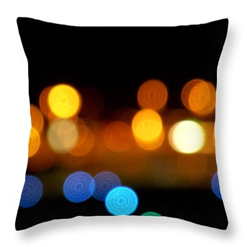 #onethousandyearsinwords Throw Pillow by Becky Furgason