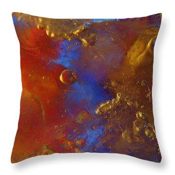 Rupture Throw Pillow by Sami Tiainen