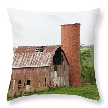 Rural Melrose Throw Pillow