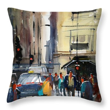Rush Hour 2 - Chicago Throw Pillow