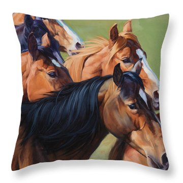 Rush Throw Pillow by JQ Licensing