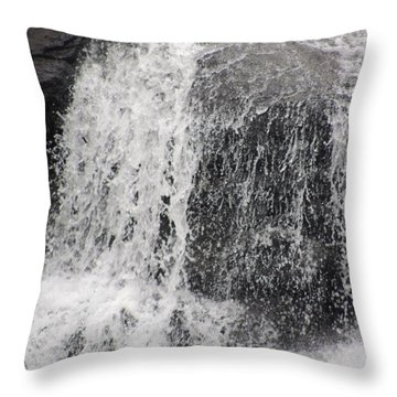 Rushing Water Throw Pillow by Aaron Martens