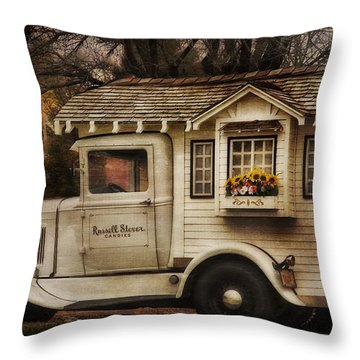 Russell Stover Candies Throw Pillow