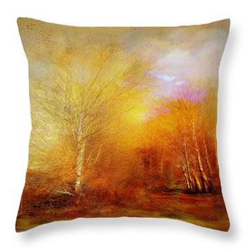 Russet Lane Throw Pillow