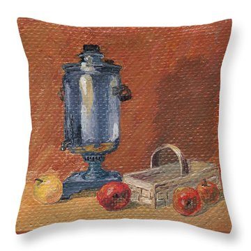 Russian Style Throw Pillow