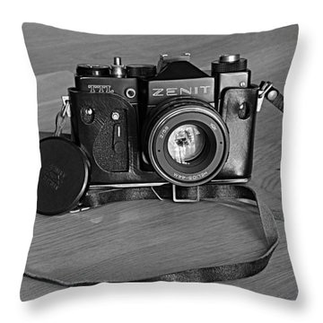 Russian Tank Throw Pillow