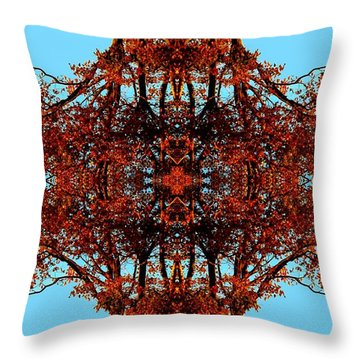 Throw Pillow featuring the photograph Rust And Sky 3 - Abstract Art Photo by Marianne Dow