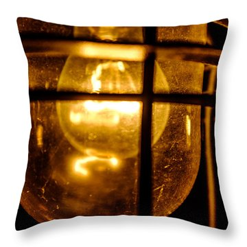 Rust Light Throw Pillow