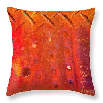 Rusted Glory 10 Throw Pillow