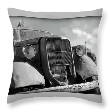 Rustic Beauty Throw Pillow
