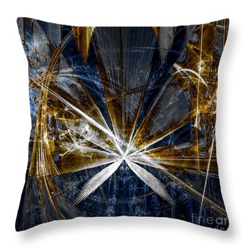 Rustic Hemp Throw Pillow by Arlene Sundby