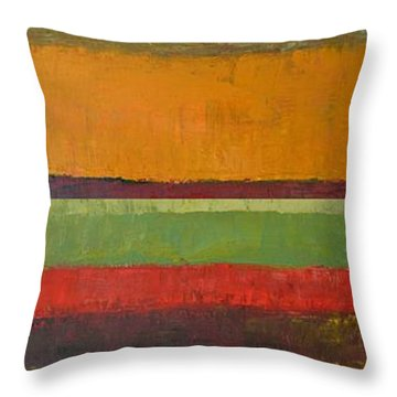 Rustic Layers 3.0 Throw Pillow