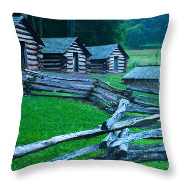 Rustic Life Throw Pillow