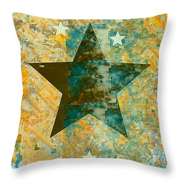 Rustic Star #2 Throw Pillow