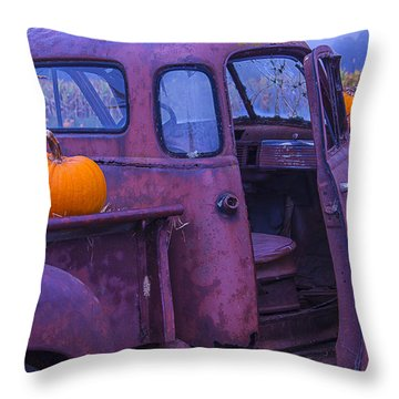 Rusty Autumn Throw Pillow by Garry Gay