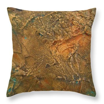 Rusty Day Throw Pillow