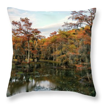 Rusty Mill Throw Pillow by Lana Trussell