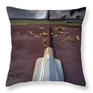 Rusty Old Ford Standard 11x14 Throw Pillow