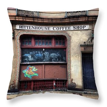 Rusty Rittenhouse Throw Pillow