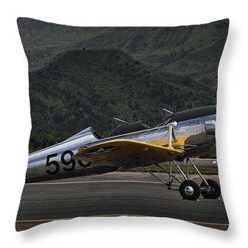 Ryan Pt-22 Recruit Throw Pillow