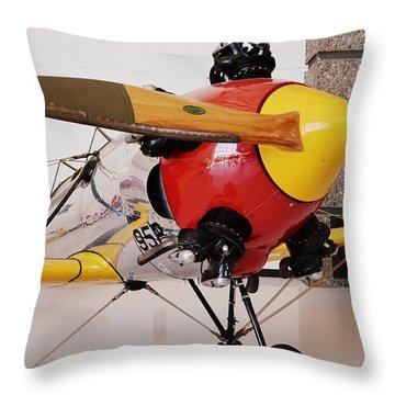 Ryan Pt-22 Recruit Throw Pillow by Michelle Calkins