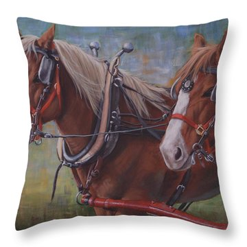 Rye And Whiskey Throw Pillow