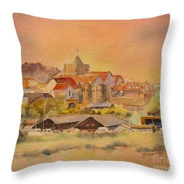 Rye East Sussex Uk Throw Pillow