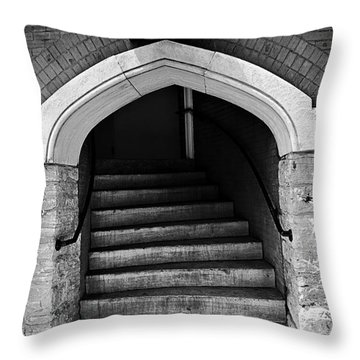 Ryman Auditorium Back Door Throw Pillow
