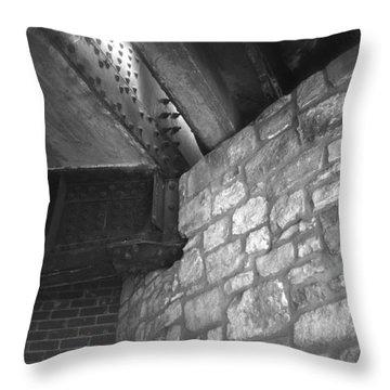 Sa River Walk 004-13 Throw Pillow by Shawn Marlow