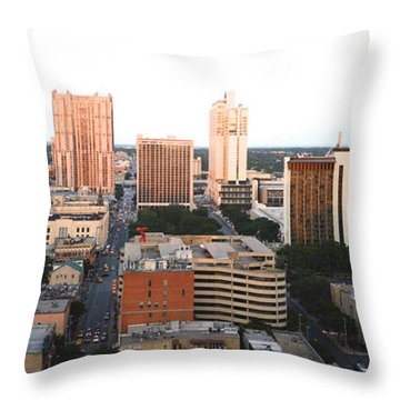 Sa Skyline 003 Throw Pillow