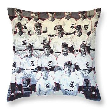 Sacramento Solons Throw Pillows