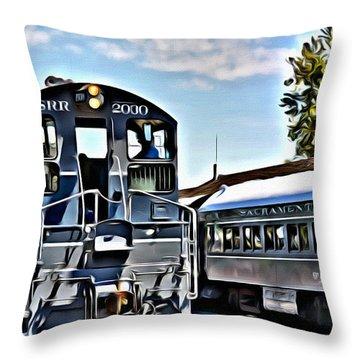 Sacramento Southern Throw Pillow