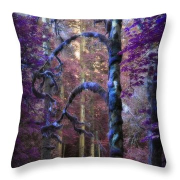 Sacred Forest Throw Pillow