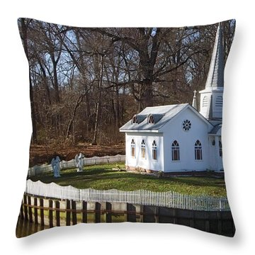Sacred Ground Throw Pillow by Brian Wallace
