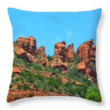 Sacred Sedona Throw Pillow