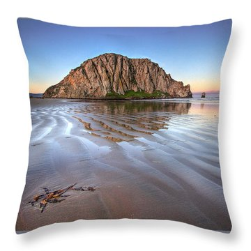 Sacred Space Throw Pillow by Alice Cahill