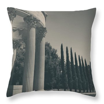 Sacred Things Throw Pillow by Laurie Search